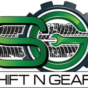 logo for shift n gearz auto repair